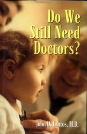 Cover of: Do we still need doctors?