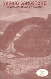 Cover of: Navajo Sandstone A Canyon Country Enigma