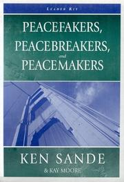 Cover of: Peacefaker, Peacebreaker, and Peacemaker Leader Kit with DVD