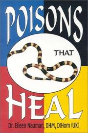 Cover of: Poisons That Heal | E. Nauman