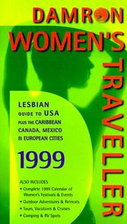 Cover of: The Damron Women's Traveller