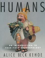 Cover of: Humans | Alice Bec Kehoe