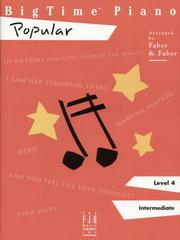 Cover of: BigTime Piano Popular | Randall Faber (Author) Nancy Faber (Author)