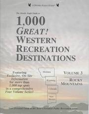 Cover of: The Double eagle guide to 1,000 great! western recreation destinations