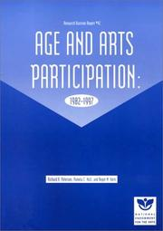 Cover of: Age and Arts Participation | Richard A. Peterson