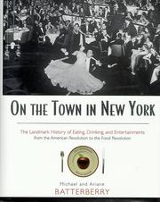 Cover of: On the town in New York | Michael Batterberry