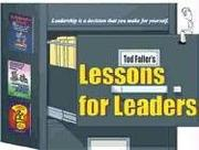 Cover of: Lessons for Leaders