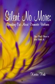 Cover of: Silent No More | Krista Fink