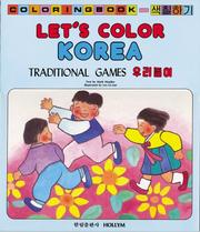 Cover of: Lets Color Korea
