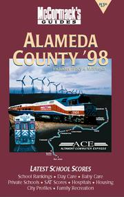 Cover of: Alameda County (McCormack