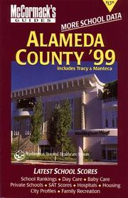 Cover of: Alameda '99 (McCormack's Guides Alamenda County/Central Valley)