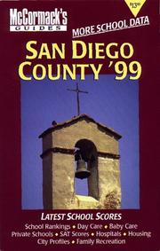 Cover of: San Diego County '99