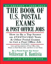 Cover of: The Book of U.S. Postal Exams and Post Office Jobs | Veltisezar B. Bautista