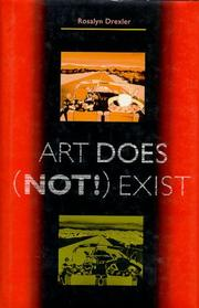 Cover of: Art Does Not Exist