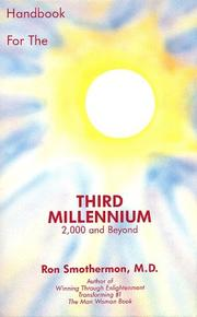 Cover of: Handbook for the Third Millennium