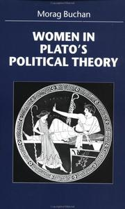 Cover of: Women in Plato's political theory