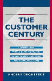 Cover of: The Customer Century