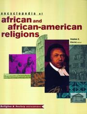 Cover of: Encyclopedia of African and African-American Religions