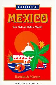 Cover of: Choose Mexico | John Howells