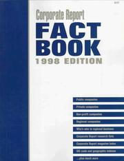 Cover of: Corporate Report Fact Book 1998 (Fact Book) |