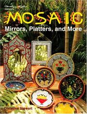 Cover of: Mosaic Mirrors, Platters & More
