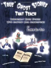 Cover of: True Ghost Stories That Teach |
