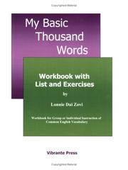 Cover of: My Basic Thousand Words