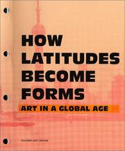 Cover of: How latitudes become forms