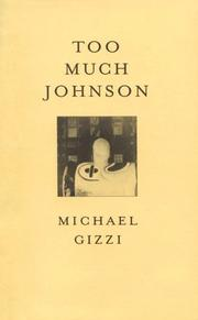 Cover of: Too Much Johnson