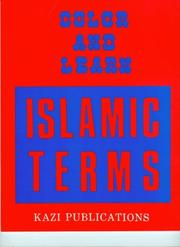 Cover of: Color & Learn Islamic Terms