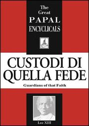 Cover of: Encyclical