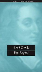 Cover of: Pascal