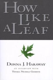 Cover of: How Like a Leaf