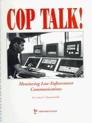 Cover of: Cop-Talk! | Laura E. Quarantiello