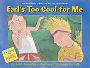 Cover of: Earl's Too Cool for Me
