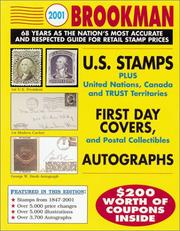 Cover of: 2002 Brookman United States, United Nations & Canada Stamps & Postal Collectibles (Brookman Stamp Price Guide. (Spiral), 2002) | David S. MacDonald