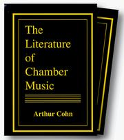 Cover of: Literature of Chamber Music (Set)