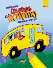 Cover of: COLORING + ACTIVITIES--GROWING UP GOD