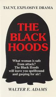 Cover of: The Black Hoods | Walter E. Adams