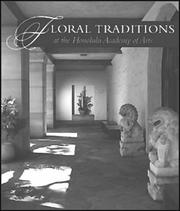 Cover of: Floral Traditions at the Honolulu Academy | Kaui Philpotts
