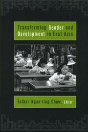 Cover of: Transforming Gender and Development in East Asia