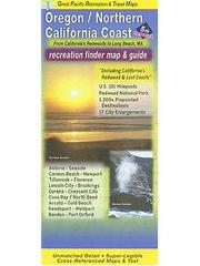 Cover of: Oregon/North CA Coast Recreation Map & Guide | David J. Peckarsky