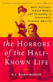 Cover of: The Horrors of the Half-Known Life