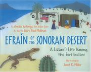 Cover of: Efraín of the Sonoran Desert