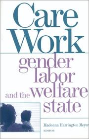 Cover of: Care Work | Madonna Meyer