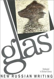 Cover of: Glas 1 | Natasha Perova