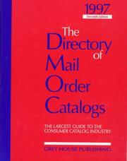 Cover of: 1997 The Directory of Mail Order Catalogs | Richard Gottlieb