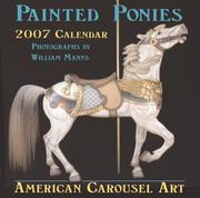 Cover of: Painted Ponies 2007 Calendar