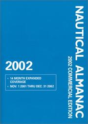 Cover of: 2002 Nautical Almanac Commercial Edition
