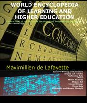 World Encyclopedia of Learning and Higher Education:General index of the worldwide encyclopedia of postsecondary education